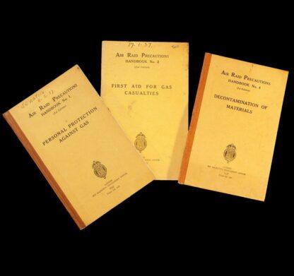 ARP Air Raid Precautions Handbooks