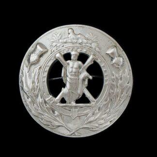 Black Watch (Royal Highlanders) Piper's Plaid Brooch Badge
