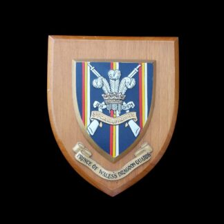 3rd Carabiniers (Prince of Wales's Dragoon Guards) Wooden Wall Plaque