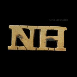 Northumberland Hussars Shoulder Title
