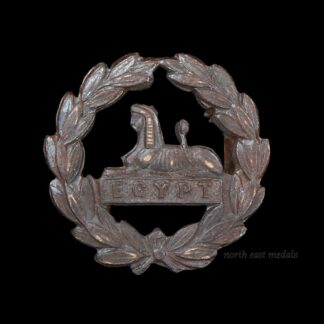 Gloucestershire Regiment Officer's 'OSD' Bronze Back Badge