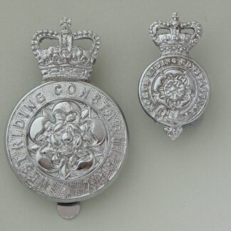 Vintage Obsolete West Riding Constabulary Cap Badge