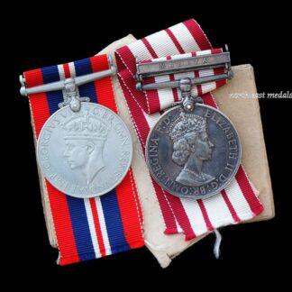 EIIR Naval General Service Medal, Clasp 'Malaya' Anti-Aircraft Rating