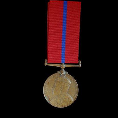 1902 Coronation Medal, Metropolitan Police, PC Knowles, E Division