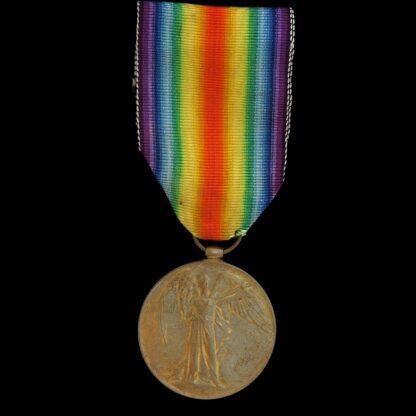Victory Medal, Gunner Jenks, Royal Artillery