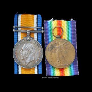 British War & Victory Medal Pair, Ord. Presley, Royal Navy