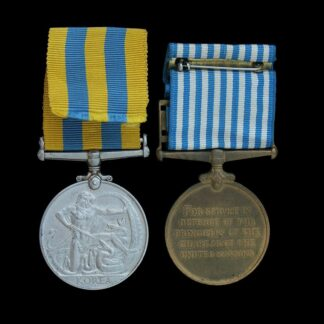Queen's Korea & United Nations Korea Medal Pair, Royal Artillery