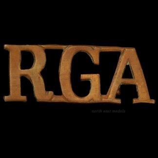Great War RGA Royal Garrison Artillery Shoulder Title