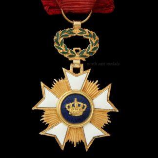Belgian Order of the Crown, Officer's Breast Badge