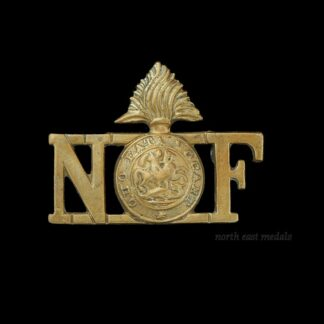 Northumberland Fusiliers Shoulder Title Badge