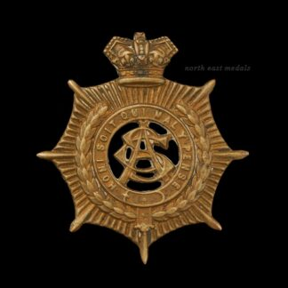 Victorian Army Service Corps Cap Badge