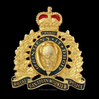 Royal Canadian Mounted Police Cap Badge