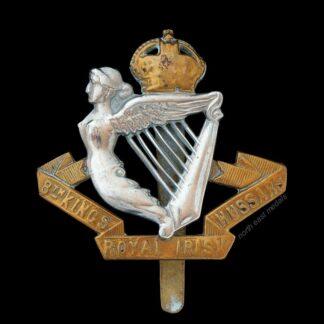 8th King's Royal Irish Hussars Cap Badge