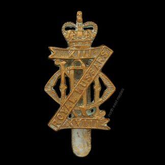 13th/18th Royal Hussars Cap Badge