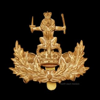 The Queen's Own Royal Glasgow Yeomanry Cap Badge