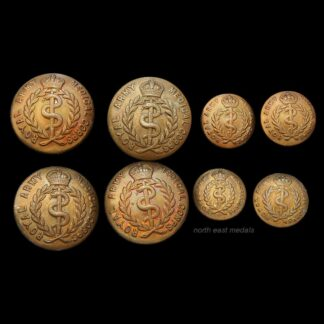 Set of Eight Royal Army Medical Corps Uniform Buttons