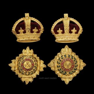 Army Officer (Lieut Colonel) Gilt Rank Badges Stars and Crowns