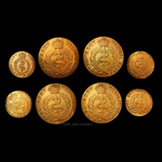 Set of 8 RAMC Royal Army Medical Corps Uniform Buttons