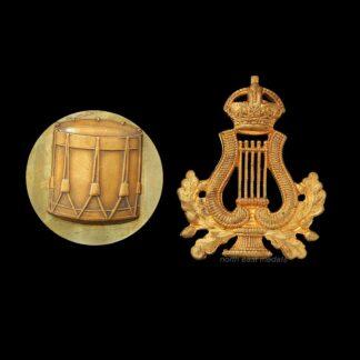 British Army Musicians/Bandsman & Drummer Arm Badges