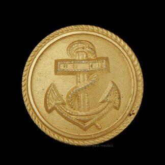 WW2 German Navy Kreigsmarine Officers Gilt Uniform Button. Dated