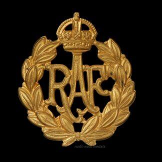 WW2 RAF Royal Air Force Airman's Cap Badge