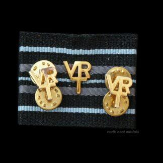Three RAFVR Royal Air Force Volunteer Reserve Badges