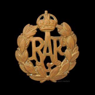 RAF Royal Air Force Cap Badge
