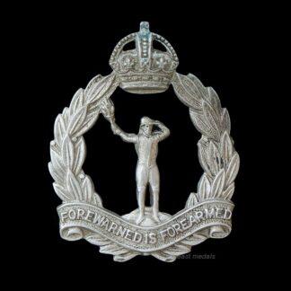 WW2 Royal Observer Corps Cap Badge