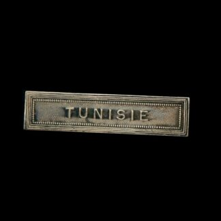 'Tunisie' Medal Ribbon Bar for the French Colonial Medal