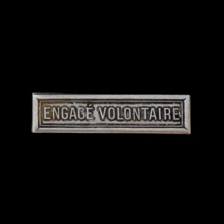 'Engage Volontaire' Medal Ribbon Bar for the French WW2 Commemorative Medal