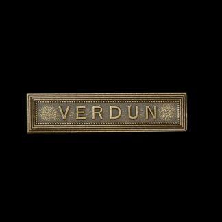 Great War 'Verdun' Medal Ribbon Bar