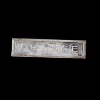 Original WW2 FRANCE Medal Ribbon Bar