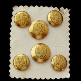 King's College Cambridge Victorian Gilt Buttons