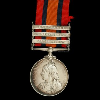 Queen's South Africa Medal Private Marsden King's Own Yorkshire Light Infantry