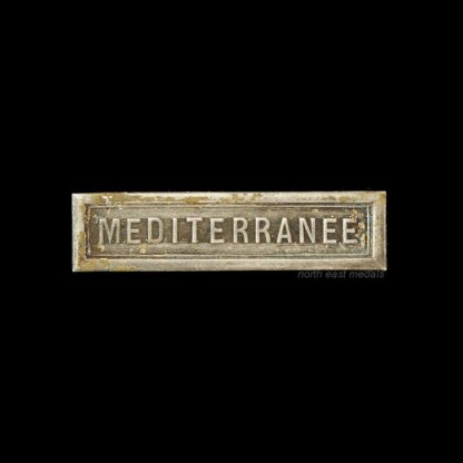 'Mediterranee' Medal Ribbon Bar for the French WW2 Commemorative Medal