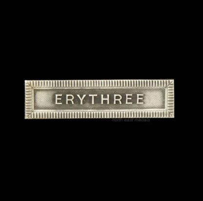 'Erythree' Medal Ribbon Bar for the French Colonial Medal