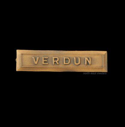 Original WW2 VERDUN Medal Ribbon Bar