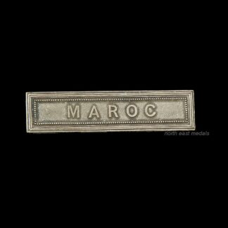 MAROC Medal Ribbon Bar for the French Colonial Medal