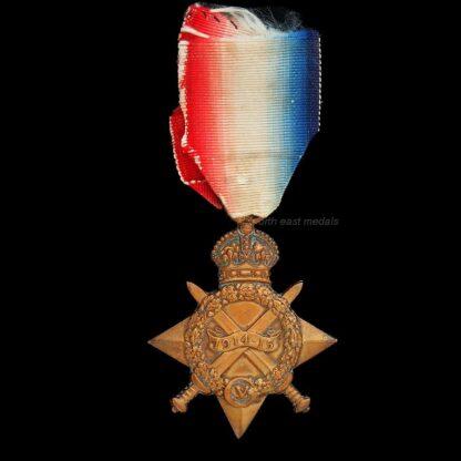 1914-15 Star Medal Chaffe RN