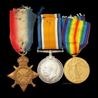 WW1 1914-15 Star Medal Trio, Sergeant Jones, Lancashire Fusiliers and Machine Gun Corps.