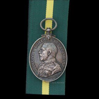 GV Territorial Force Efficiency Medal Sapper Holmes Royal Engineers