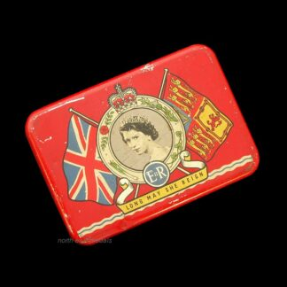 1953 EIIR Coronation 'Oxo' Commemorative Tinrative Tin
