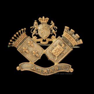 Great War Battlefield Commemorative Brooch Badge ARRAS