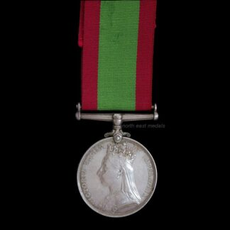 1878-80 Afghanistan Medal. Private Marsh 70th Foot. (Defective)