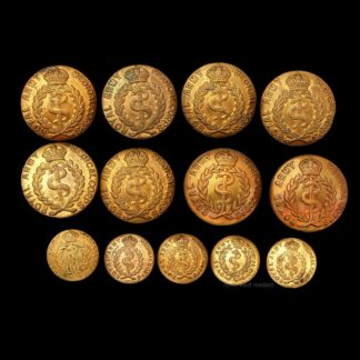 13 RAMC Royal Army Medical Corps Uniform Buttons