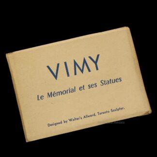 Great War Vimy Memorial Vintage Photo Souvenir
