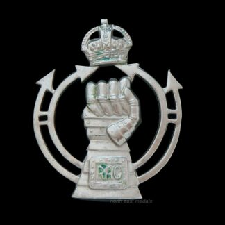 Royal Armoured Corps Cap Badge