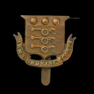 WW1 Army Ordnance Corps Cap Badge