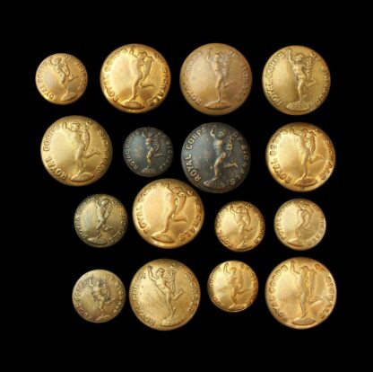 Royal Corps of Signals Uniform Buttons