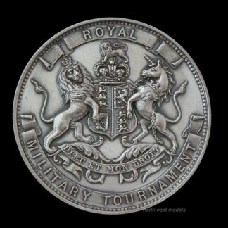 1896 Royal Military Tournament Bayonet Exercise 1st Prize Medal